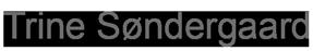 Trine Søndergaard Logo